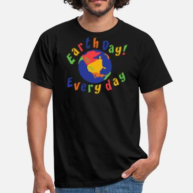 Earth Day 2017 Earth Day Every Day - Men's T-Shirt
