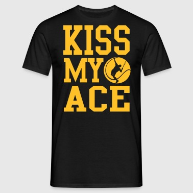 Tennis - kiss my ace - Men's T-Shirt