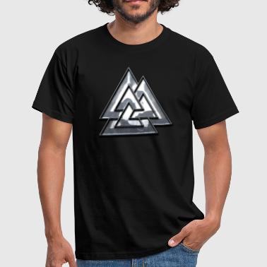 Viking Metal Valknut Viking.png - T-shirt Homme