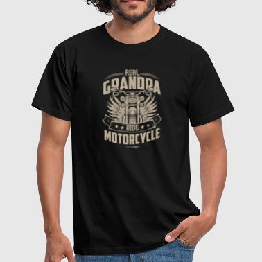 Grossvati Real Grandpa Ride Motorcycle - Camiseta hombre