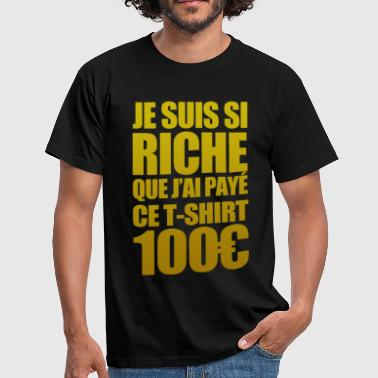 Riche - Herre-T-shirt