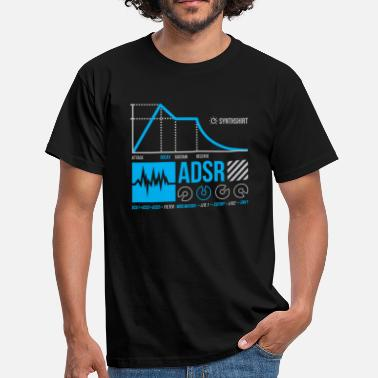 Synthesis ADSR - Men's T-Shirt
