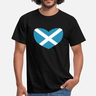 Scotland Love Love Scotland - Men's T-Shirt