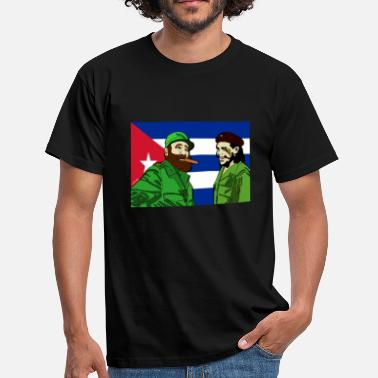 Revolutionary Fidel & Che Tee - Men's T-Shirt