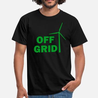 Off Grid Off Grid in Green - Men's T-Shirt