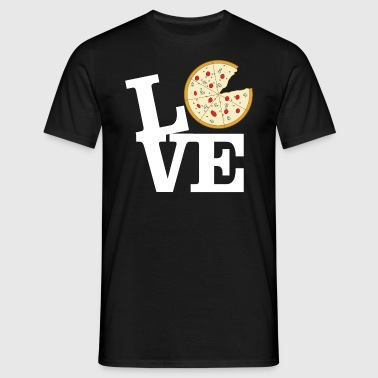 Love Pizza - Men's T-Shirt