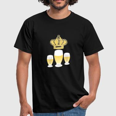 Three Kings Queen or King of the three beers. - Men's T-Shirt