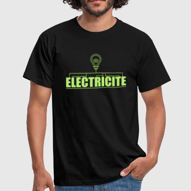 logo electricite - T-shirt Homme