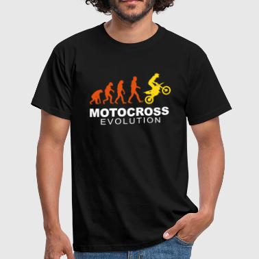 Motocross Evolution slick - Men's T-Shirt