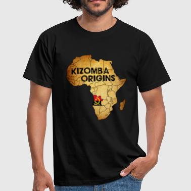 born to angola - T-shirt Homme