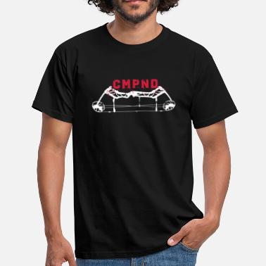 Long CMPND (Tir à l'arc par BOWTIQUE) - T-shirt Homme