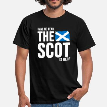 Scottish Scotland Scottish flag flag Scottish saying - Men's T-Shirt