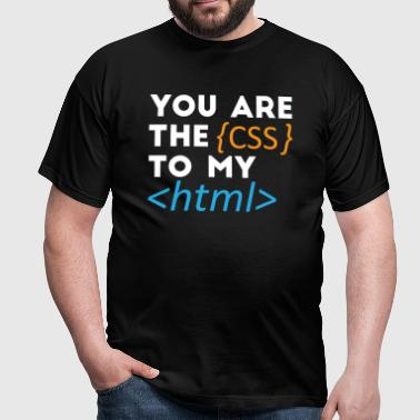 The css to my Html - Men's T-Shirt