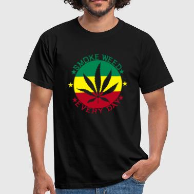 smoke weed every day - T-shirt Homme