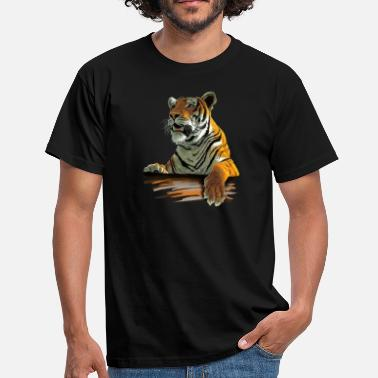 Tiger Tiger - T-skjorte for menn