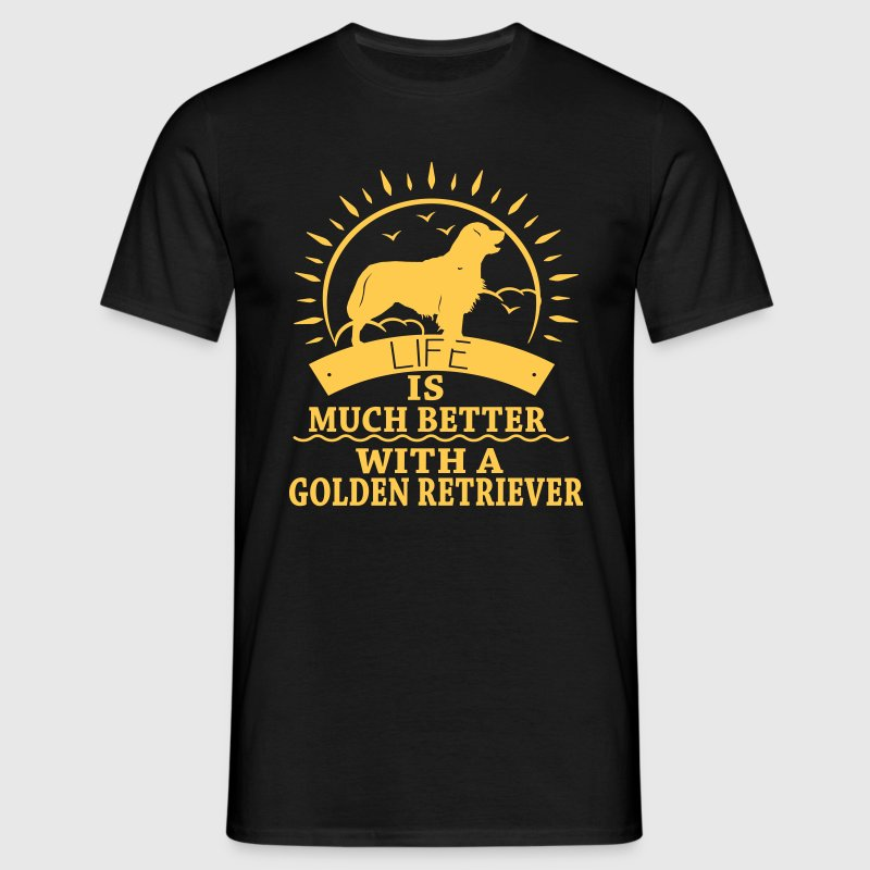 Golden Retriver - T-shirt Homme