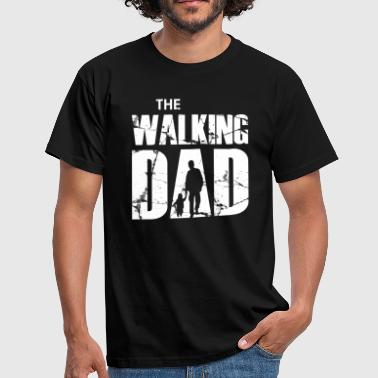 Vader Baby The Walking Dad (white) - Mannen T-shirt