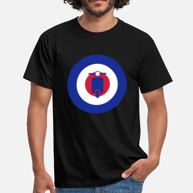 Quadrophenia mods scooter target 2 - Men's T-Shirt