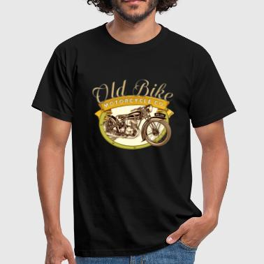 Old Bike Motorcycle Co - T-shirt Homme