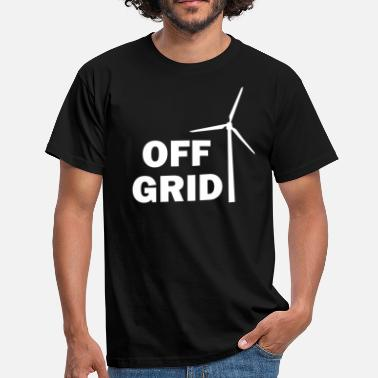 Off Grid Off Grid in White - Men's T-Shirt