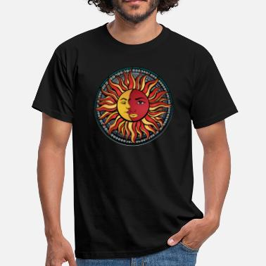 Sun Mandala combination Sun Moon Sun & Moon No.3 - Men's T-Shirt