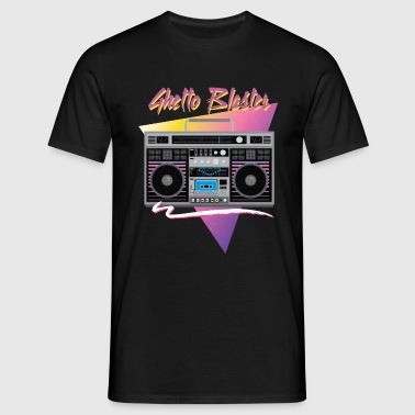 1980s ghetto blaster - Men's T-Shirt