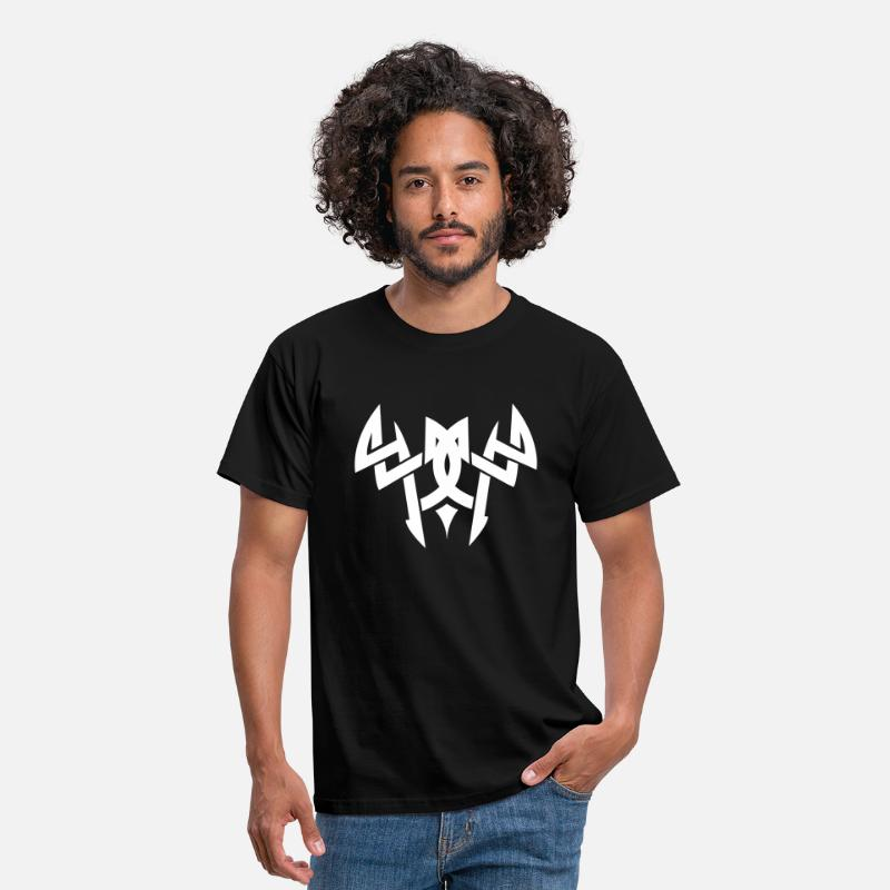 Tribal T-Shirts - tribal - Mannen T-shirt zwart