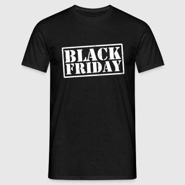 Black Friday - Männer T-Shirt