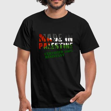 100% résistant Made in Palestine - T-shirt Homme