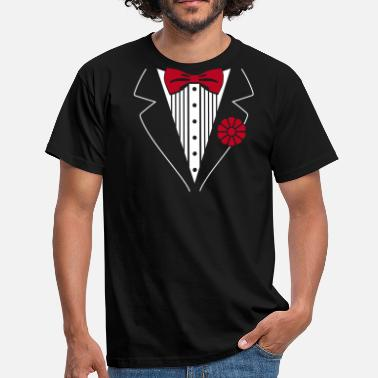 Smoking tuxedo smoking - T-shirt herr