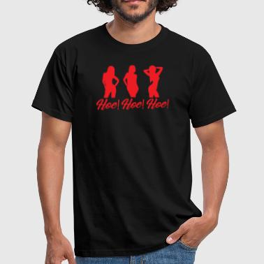 Hoeing Hoe Hoe Hoe Christmas theme - Men's T-Shirt
