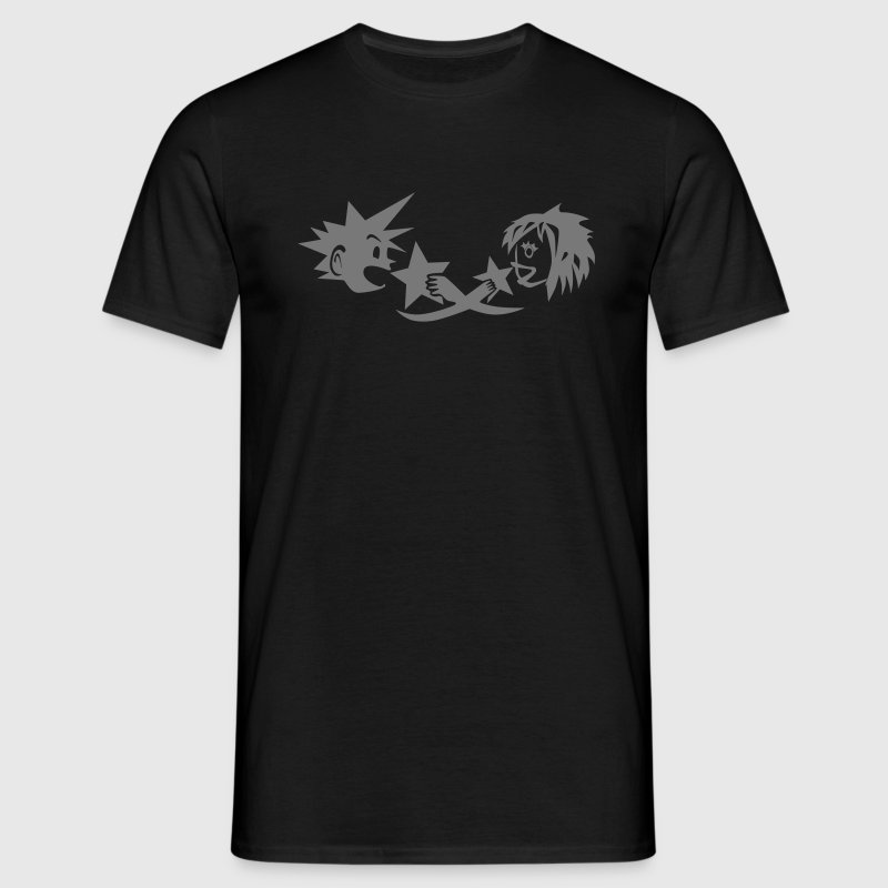 Kingdom Hearts Sora and Kairi - Men's T-Shirt