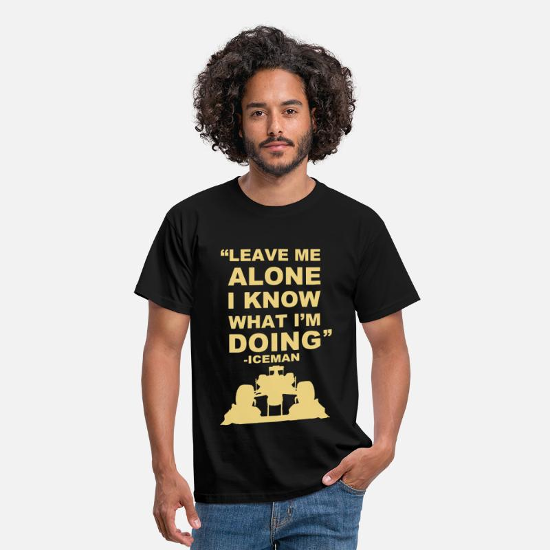 Kimi T-Shirts - Leave Me Alone  - Men's T-Shirt black