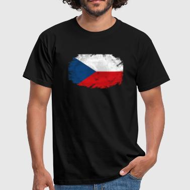 Czech Republic Flag - Männer T-Shirt