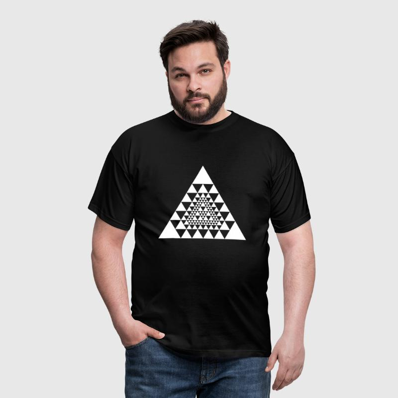 conception de triangle maya inca aztèque - T-shirt Homme
