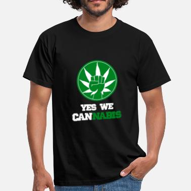 Yes We Cannabis Yes we cannabis - T-shirt Homme