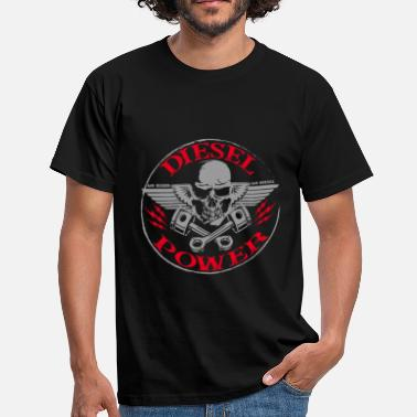 Diesel Power Diesel Power Gear Diesel dans la chemise Blood Powerstroke - T-shirt Homme