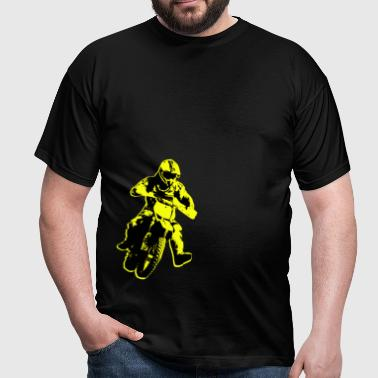 enduro yellow - Men's T-Shirt