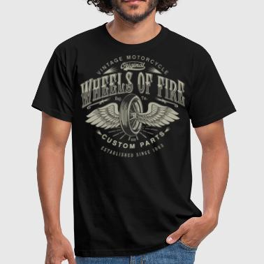 SSD Biker Wheels of Fire Custom Parts Biker - RAHMENLOS Motorcycle Design - Männer T-Shirt