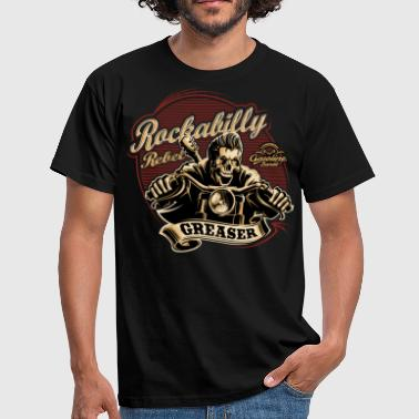 Rockabilly Rebel Gasoline Bandit Greaser Biker Shirt Kopie - Männer T-Shirt