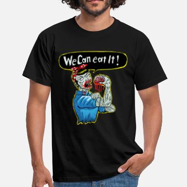 Divertidas we can eat it - Camiseta hombre