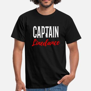 Linedance Captain Linedance - Mannen T-shirt