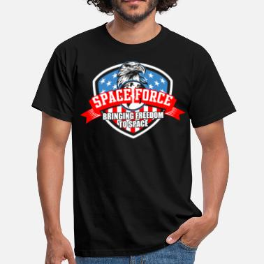 Nasa US Space Force | New Military Branch Novelty Gift - Men's T-Shirt