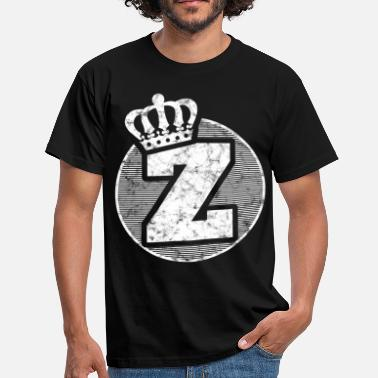 Letters Crown Stylish letter Z with crown - Men's T-Shirt