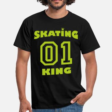 Skating King 01 - hellgrün - Men's T-Shirt