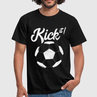 kick it - Men's T-Shirt