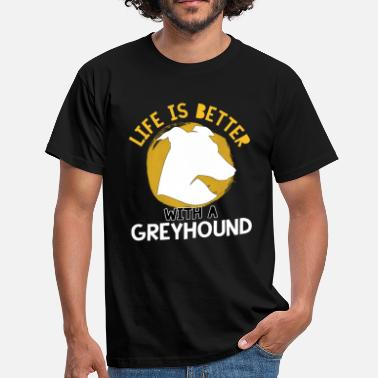 Greyhound Dog Dog Greyhound - Men's T-Shirt