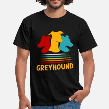 Chien Chasse Chien Greyhound Chien Race Chien Chasse Chasse - T-shirt Homme