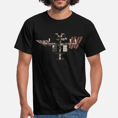 Iss ISS :International Space Station - T-shirt Homme