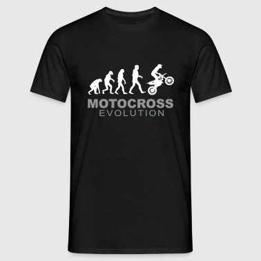 Motocross Evolution - T-shirt herr